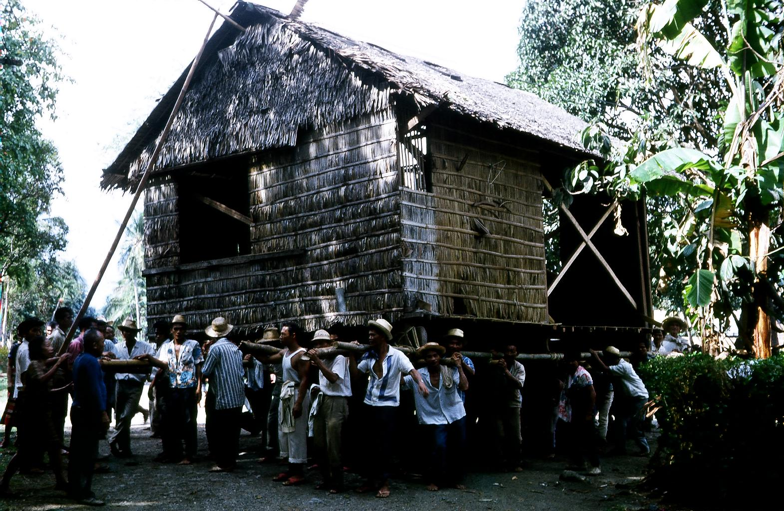 A Typical Bayanihan exercised at the school